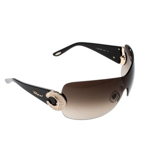 Chopard Gradient SCH939S Crystal Embellished Shield Sunglasses