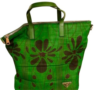 Prada Tote in green