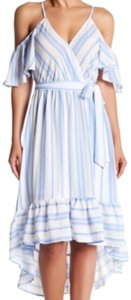white blue Maxi Dress by Flying Tomato