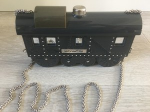 Moynat Rare Pharell Exclusive Kelly black Clutch