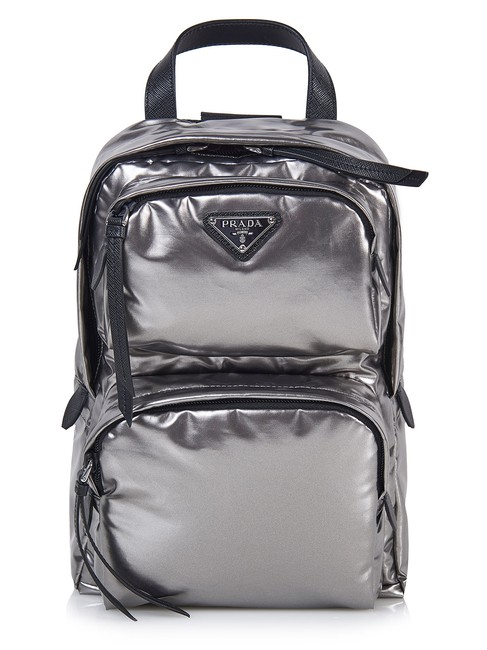 Item - Stylish Nwt#54619 Silver Backpack