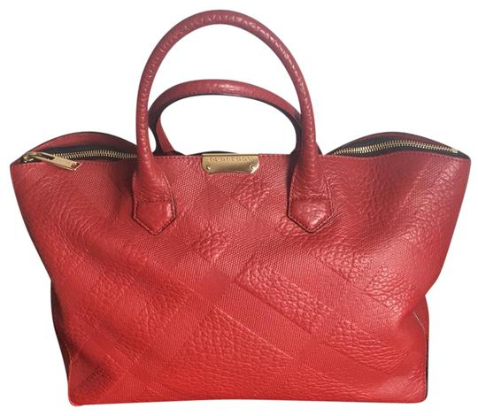 Preload https://img-static.tradesy.com/item/24177532/burberry-red-leather-tote-0-1-540-540.jpg