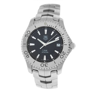 TAG Heuer Authentic Men's Tag Heuer Link WJ1110 Stainless Steel Date 39MM Quartz