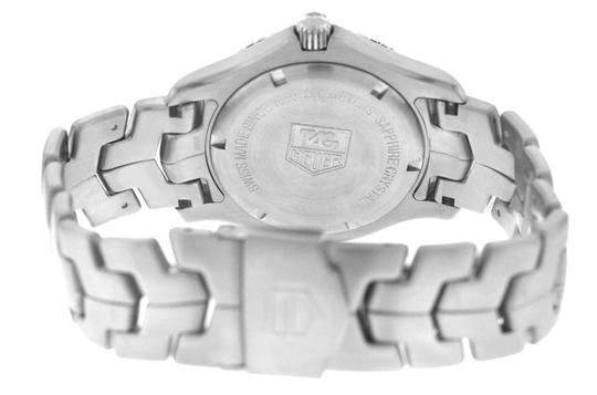 TAG Heuer Authentic Men's Tag Heuer Link WJ1110 Stainless Steel Date 39MM Quartz Image 4
