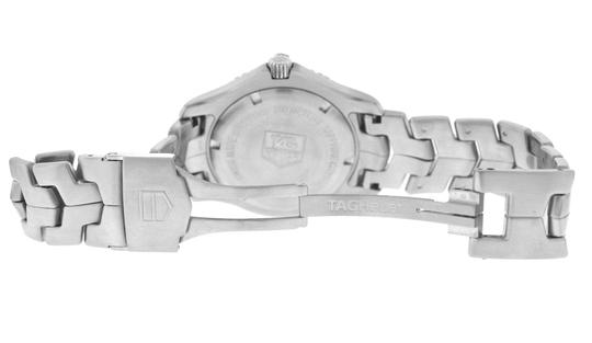TAG Heuer Authentic Men's Tag Heuer Link WJ1110 Stainless Steel Date 39MM Quartz Image 6