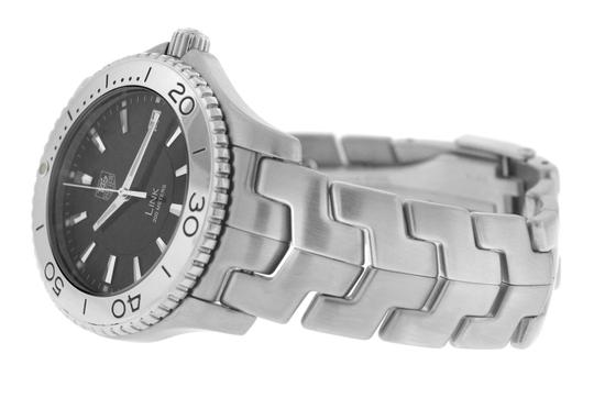 TAG Heuer Authentic Men's Tag Heuer Link WJ1110 Stainless Steel Date 39MM Quartz Image 7