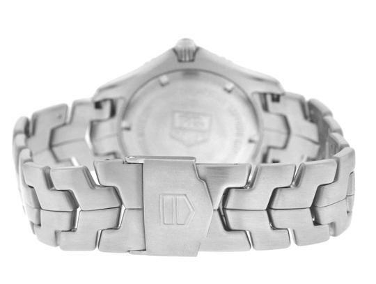 TAG Heuer Authentic Men's Tag Heuer Link WJ1110 Stainless Steel Date 39MM Quartz Image 8