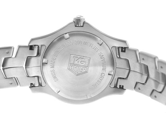 TAG Heuer Authentic Men's Tag Heuer Link WJ1110 Stainless Steel Date 39MM Quartz Image 9