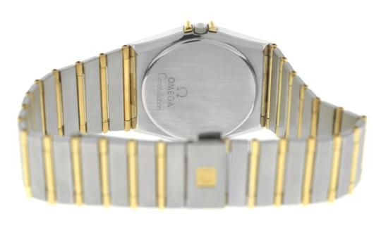 Omega Authentic Lady's Omega Constellation Full Bar 18K Yellow Gold 24MM Image 3