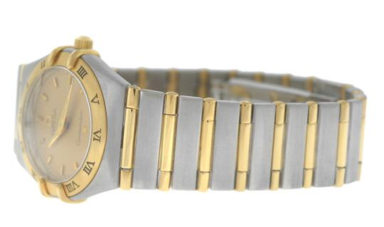 Omega Authentic Lady's Omega Constellation Full Bar 18K Yellow Gold 24MM Image 4