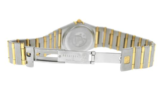 Omega Authentic Lady's Omega Constellation Full Bar 18K Yellow Gold 24MM Image 6