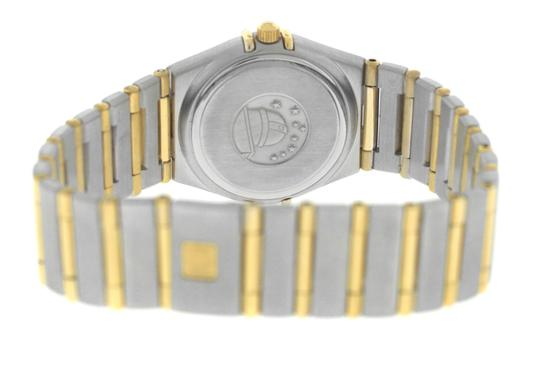 Omega Authentic Lady's Omega Constellation Full Bar 18K Yellow Gold 24MM Image 8
