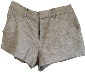 Juicy Couture Dress Shorts Silver
