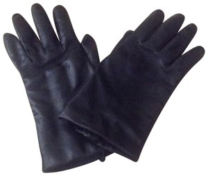 Fownes genuine leather and cashmere lined gloves