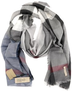 Burberry Check Long Sumer Scarf