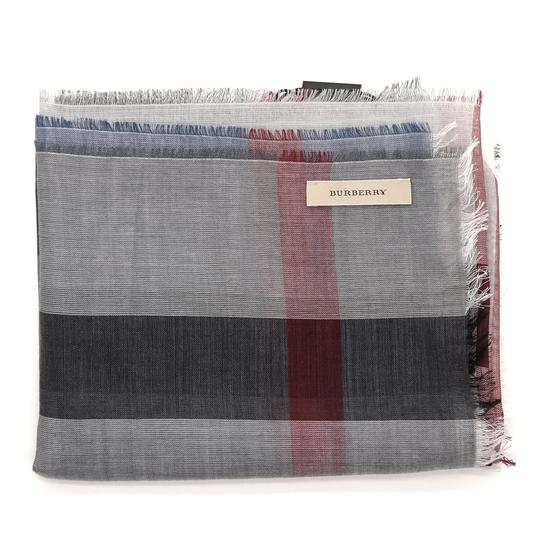 Burberry Check Long Sumer Scarf Image 1