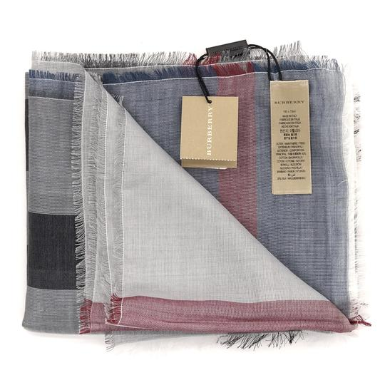 Burberry Check Long Sumer Scarf Image 2