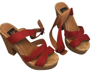 BC red, brown Wedges