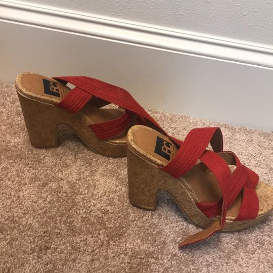 BC red, brown Wedges Image 4