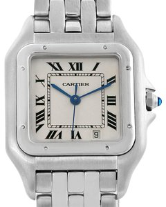 Cartier Cartier Panthere Large Steel Unisex Watch W25054P5 Box Papers