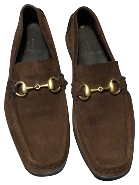 Item - Brown Driving Moc Flats Size US 6.5 Regular (M, B)