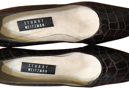 Preload https://img-static.tradesy.com/item/24177788/stuart-weitzman-brown-dress-heel-mulesslides-size-us-8-regular-m-b-0-1-540-540.jpg