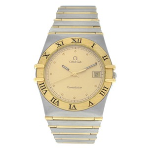 Omega Men's Unisex Omega Constellation 396.1070 Full Bar Gold 32MM Quartz