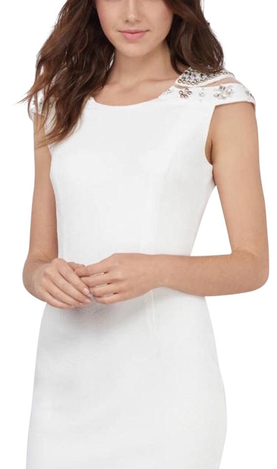 e041abf865 Tobi White Short Cocktail Dress Size 8 (M) - Tradesy