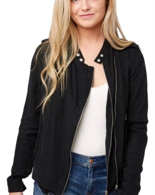 Item - Black Lightweight Tencel Jacket Size 6 (S)