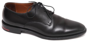 Givenchy Lace-up Oxford Rider Derby Leather Black Flats