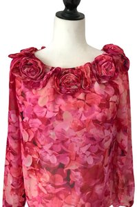Chetta B. by Sherrie Bloom and Peter Noviello Top pink