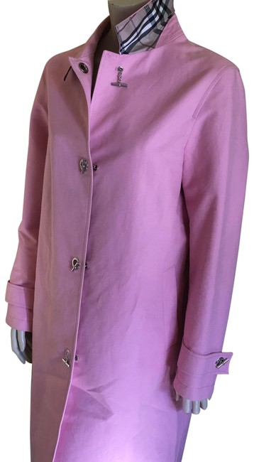 Item - Pink With Silver Toggles Coat Size 12 (L)