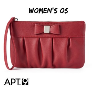 Apt. 9 Wristlet in red