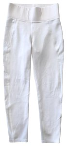 MICHI New Michi white cropped leggings