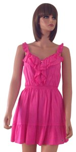 Hollister by Abercrombie & Fitch short dress Pink on Tradesy