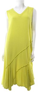 Oh My Gauze! short dress Lime Green Citron Lagenlook Lagenlook on Tradesy