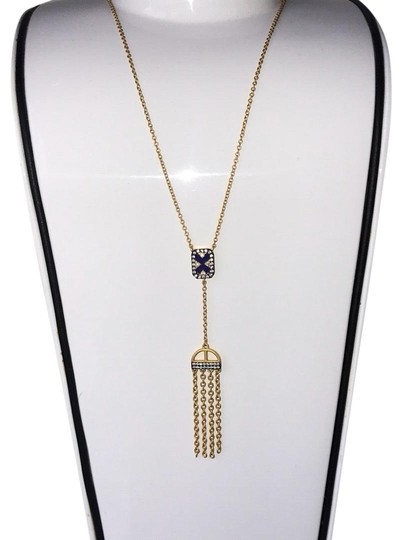 Preload https://img-static.tradesy.com/item/24179844/freida-rothman-gold-to-broque-blue-over-lay-necklace-0-1-540-540.jpg