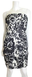 Tracy Reese Floral Strapless New Dress