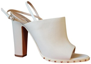 Valentino Light ivory color116 Mules