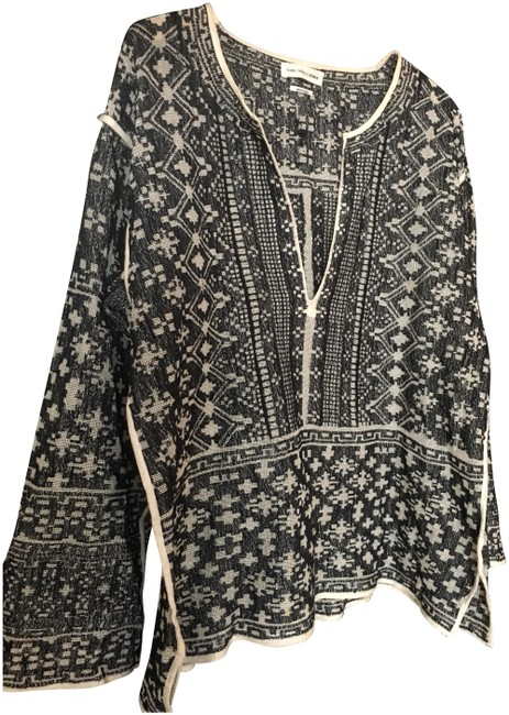 Preload https://img-static.tradesy.com/item/24180089/etoile-isabel-marant-clifton-knit-black-and-white-sweater-0-2-650-650.jpg