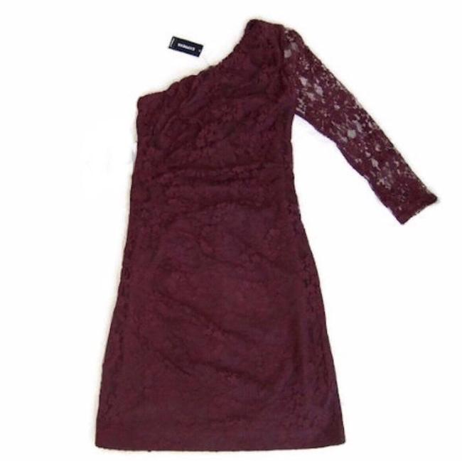 Preload https://img-static.tradesy.com/item/24180132/express-red-one-shoulder-all-over-lace-short-casual-dress-size-2-xs-0-0-650-650.jpg
