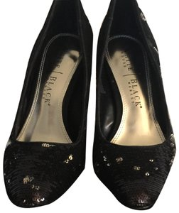 White House | Black Market Black Sequins Pumps