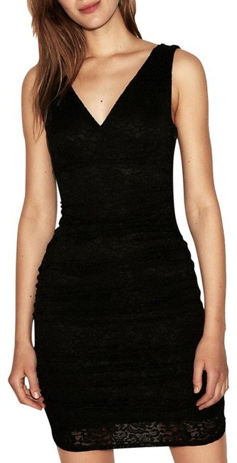 Preload https://img-static.tradesy.com/item/24180275/express-black-crocheted-lace-mini-flare-fit-lbd-mid-length-cocktail-dress-size-8-m-0-1-650-650.jpg