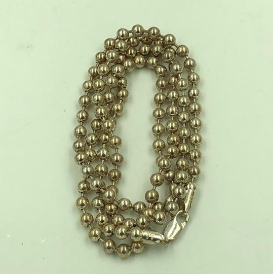Milor MILOR Italy 925 Sterling Silver Ball Necklace 32