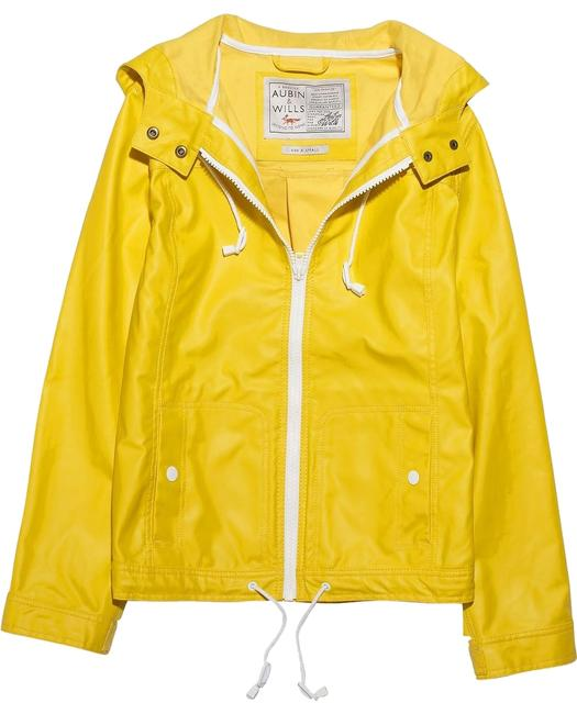 Item - Yellow Derrymore Waterproof Coated-cotton Jacket Coat Size 4 (S)