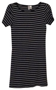 Divided by H&M short dress Navy on Tradesy