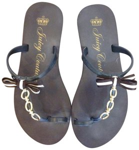 Juicy Couture Brown Sandals