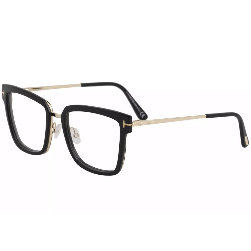 3fc3116e48a5 Tom Ford Tom Ford Women s TF5507 TF 5507 001 Shiny Black Full Rim Optical  Frame ...