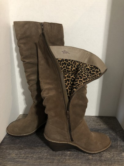 Eürosoft by Söfft Wedge Suede Tan Boots