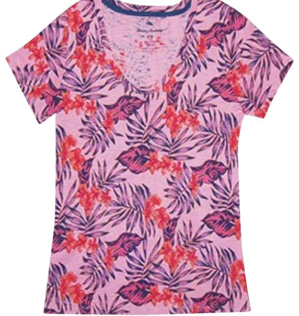 Preload https://img-static.tradesy.com/item/24180825/tommy-bahama-cabana-pink-ashby-maypop-floral-u-neck-tw216936-tee-shirt-size-16-xl-plus-0x-0-1-650-650.jpg